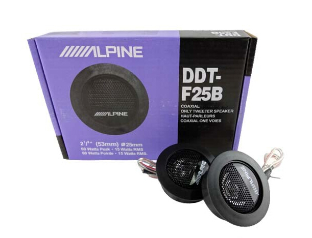 Hot selling ALPINE DDT-F25B Car Speaker / Car Tweeters / Audio High Efficiency Speakers Universal for KiA RIO 2012 K3 / k5 k7(China (Mainland))