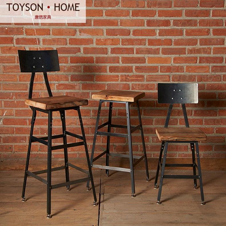 American Village Industrial retro bar stool chair chairs cafe tables and high Specials<br><br>Aliexpress