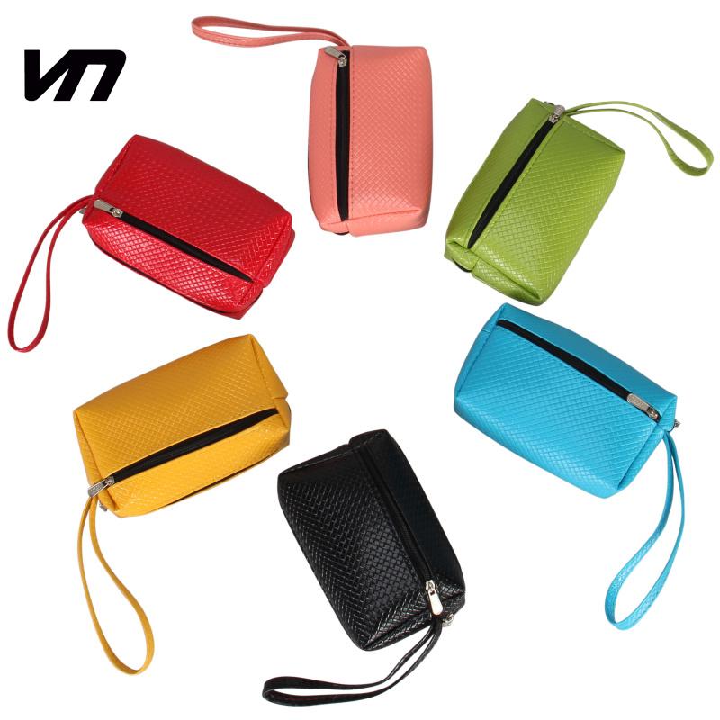 VEEVAN 2015 new wallet pu leather coin purse fashion women purse key wallet small handbag money coin bags purses and handbags(China (Mainland))