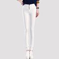 2016 New arrival pants Women OL Work Wear Slim Stretch Pencil Pants Trousers For Women Plus