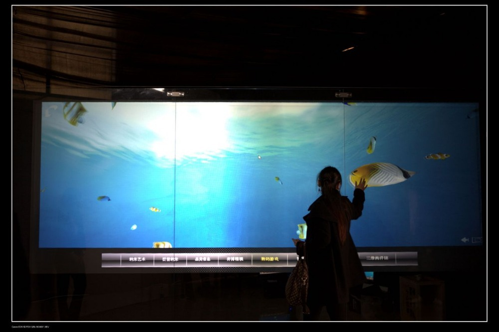 """120"""" adhesive usb flexible touch screen film(interactive application), dual touch(China (Mainland))"""