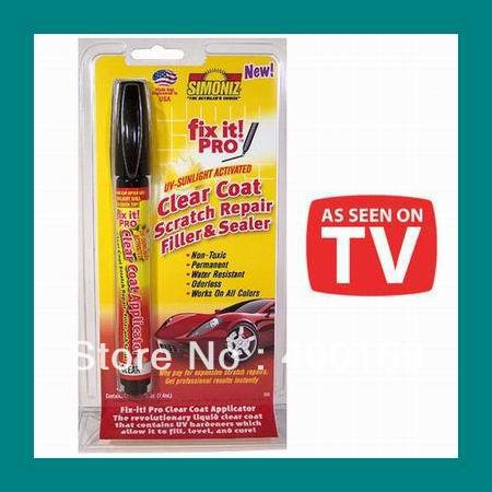 100pcs/lot Simoniz Fix It Pro Pen Clear Coat Scratch Repair Filler and Sealer(China (Mainland))