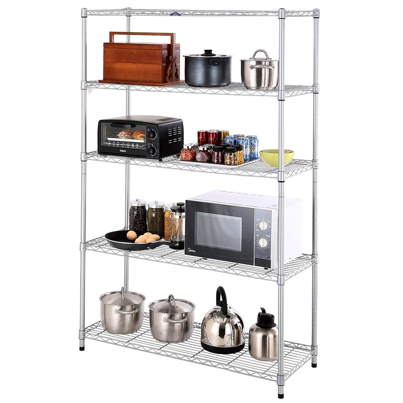 Commercial Powder Coating Kitchen Wire Rack-in Storage