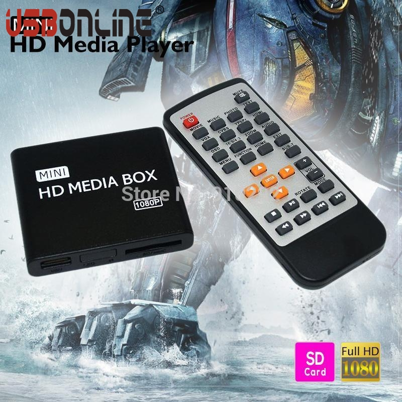 New mini 1080P Full HD Multimedia HDD Media Player With HDMI Support MKV/RM-SD/USB/SDHC/MMC BOXCHIP F10(China (Mainland))