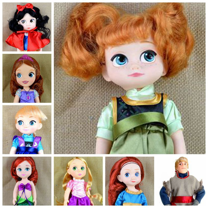Princess Prince Hans Kristoff Mermaid Sofia the First Tangled Snow White Gift for Girl Dolls & Accessories Kristoff Toys(China (Mainland))