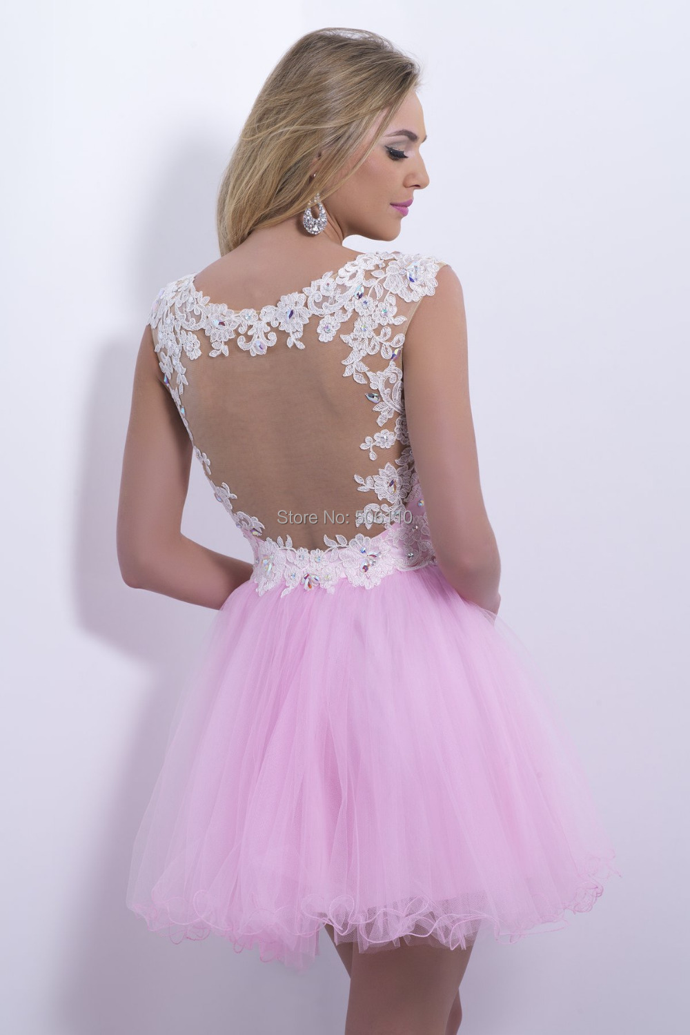 Collection Light Pink Homecoming Dresses Pictures - Reikian