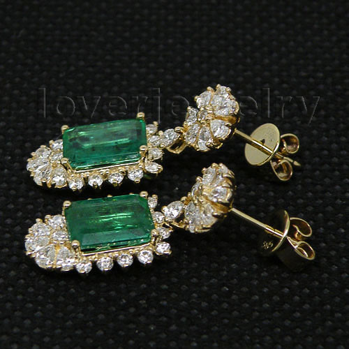 emerald earrings-3