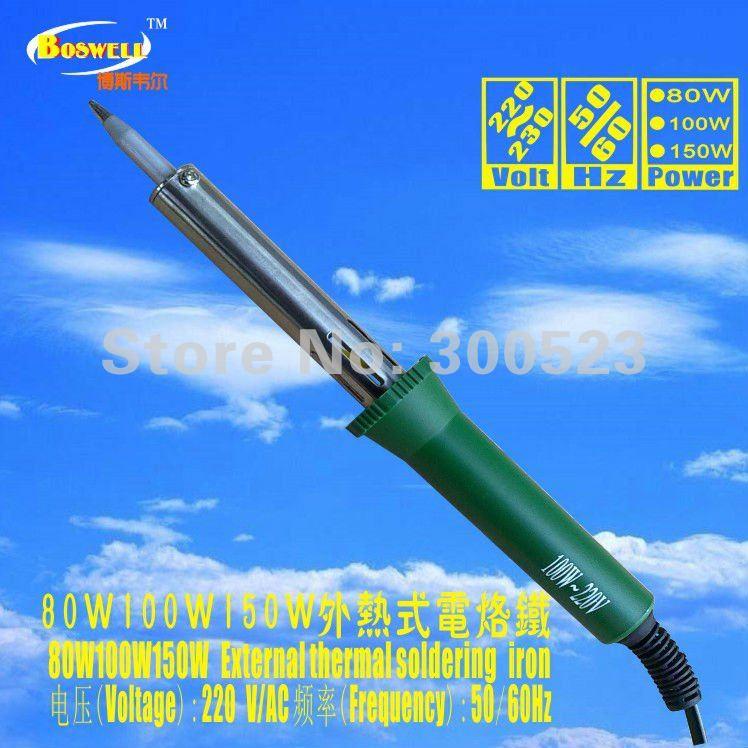 DIY enthusiasts necessary soldering iron, plus 1 heater, European plug, 100W, 220V, . - geli tools Store store