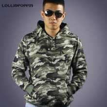 Men Camouflage Hoodies Military Style New 2016 Cotton Terry Mens Camo Print Hoodie Sweatshirt Hooded Pullovers - Your Fashion Wardrobe ! store