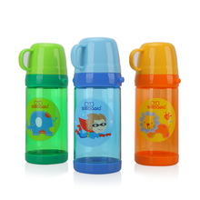 500ml Kids Water Bottle BPA Free Tritan Leak-proof Sport Shoulder Strap Chiller Cartoon Animal Design