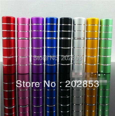 50pc/lot 5ml Pump refillable atomizer eau de parfum aluminum empty cosmetic containers glass perfume bottle spray scent bottle