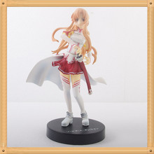 16cm Sword Art Online Asuna Action Figures PVC Collection toys for christmas gift brinquedos Toy