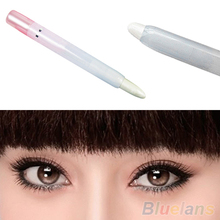 2015 New Arrival 1 Pc Glitter Pearl White Light Cosmetic Makeup Eyelip Eyeliner Shadow Pencil Pen 7GYG A4UE
