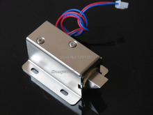 2pcs Cabinet Door Electric Lock Assembly Solenoid DC 12V 0.6A FOR Drawer/Sauna Lock(China (Mainland))