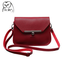 UKQLING Small Women Messenger Bags Flap Handbag Soft PU Women Bag Lady PU Leather Purse Cheap Crossbody Bags for Girls 5 Colors(China (Mainland))