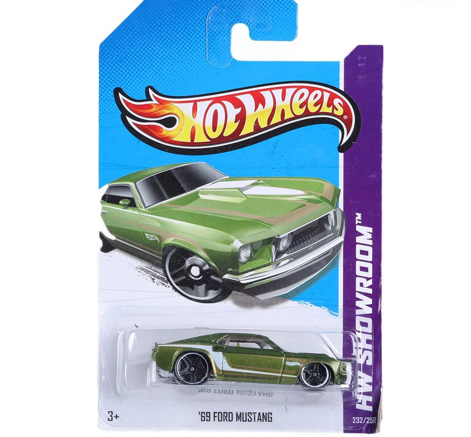 Free Shipping 2013 Hot Wheels 69 FORD MUSTANG Cars Metal Alloy Model For Colecter Wholesale Metal Cars For Car Lovers(China (Mainland))