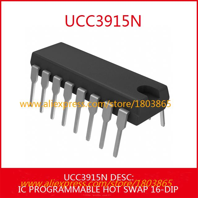 Free Shipping Electronic Components Original UCC3915N IC PROGRAMMABLE HOT SWAP 16-DIP 3915 UCC3915 1pcs(China (Mainland))