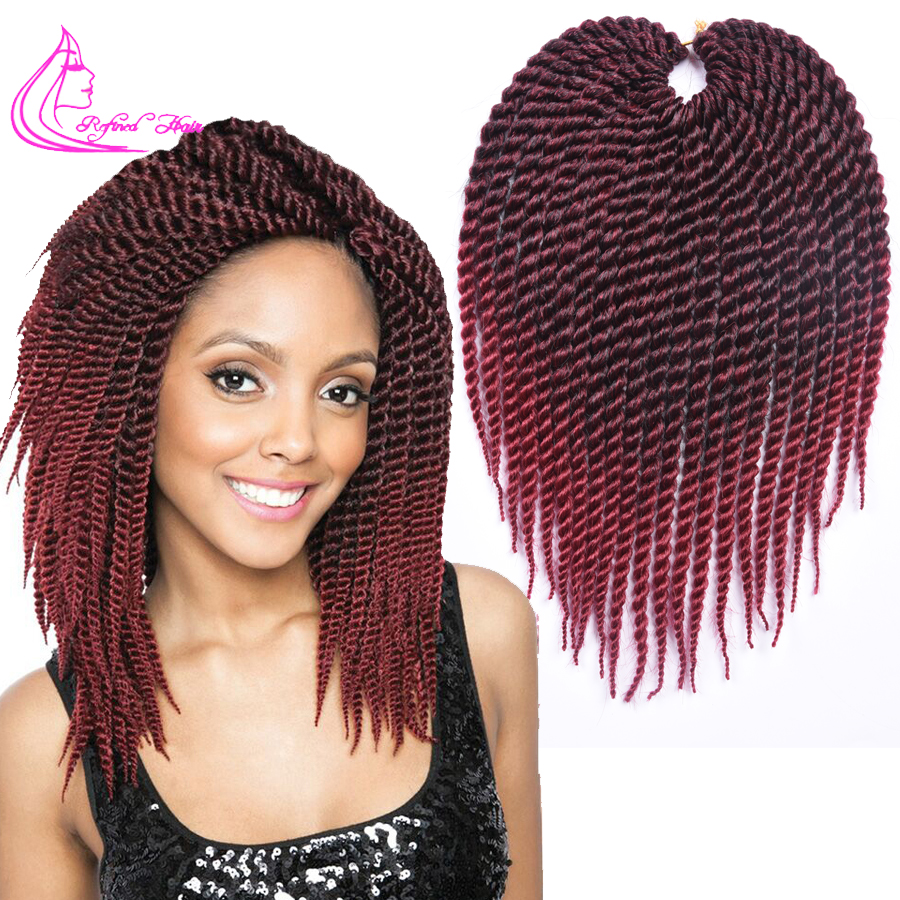 Promotion Afro Twist Crochet Hair Synthetic Crochet Braiding Hair ...