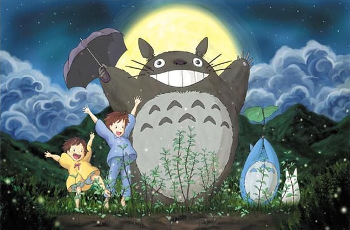 Chinchilla Wooden jigsaw puzzle adult children educational wooden toys cartoon 500 My Neighbor Totoro(China (Mainland))