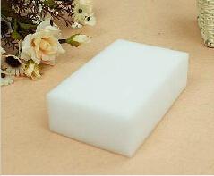 50 pcs/lot White Magic Sponge Eraser Melamine Cleaner,multi-functional Cleaning 100x60x20mm Free Shipping(China (Mainland))