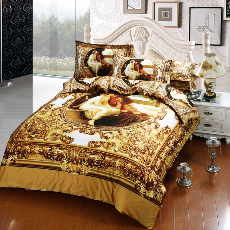 New Beauty And The Beast Bed Set
