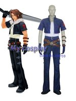Anime Kingdom Hearts Cosplay - Kingdom Hearts Kingdom Hearts Squall cosplay costume for Halloween/Cosplay parties Freeshipping