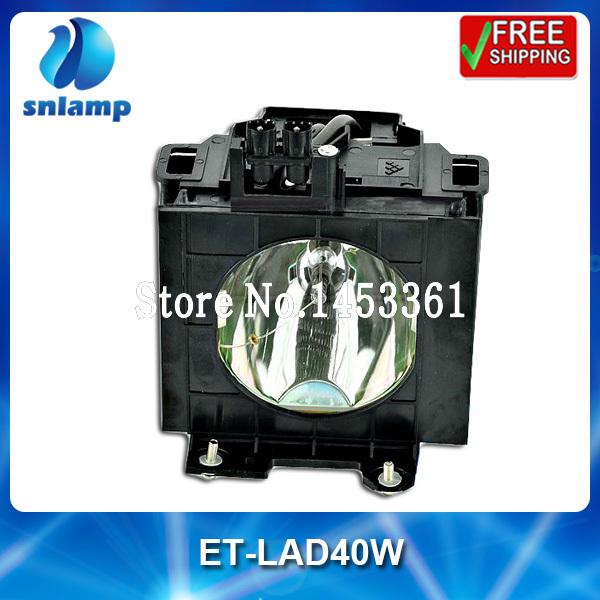 Compatible projector lamp bulb ET-LAD40W ET-LAD40 for PT-D4000 PT-D4000U<br><br>Aliexpress