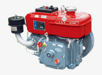 Sell WSE-R170 4hp Horizontal Water Cooled 4-stroke Small Diesel Engine
