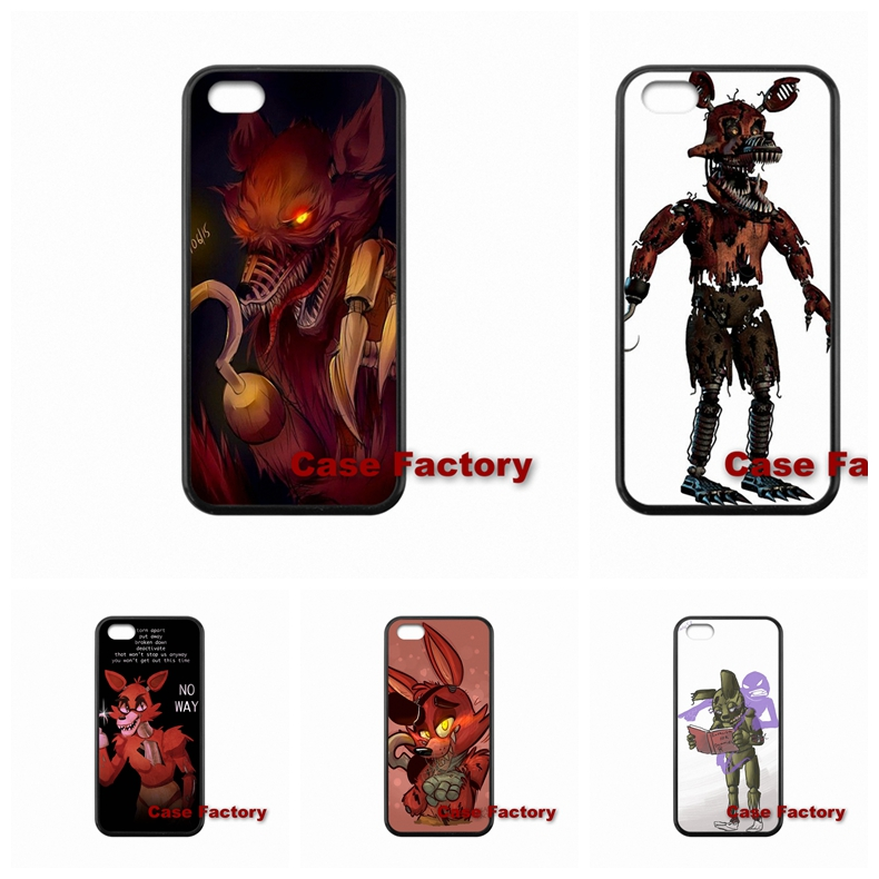 For HTC One X S M7 M8 mini M9 Plus Desire 820 Moto X1 X2 G1 G2 Razr D1 D3 Samsung Cute Foxy Five nights at freddy Cases Cover(China (Mainland))