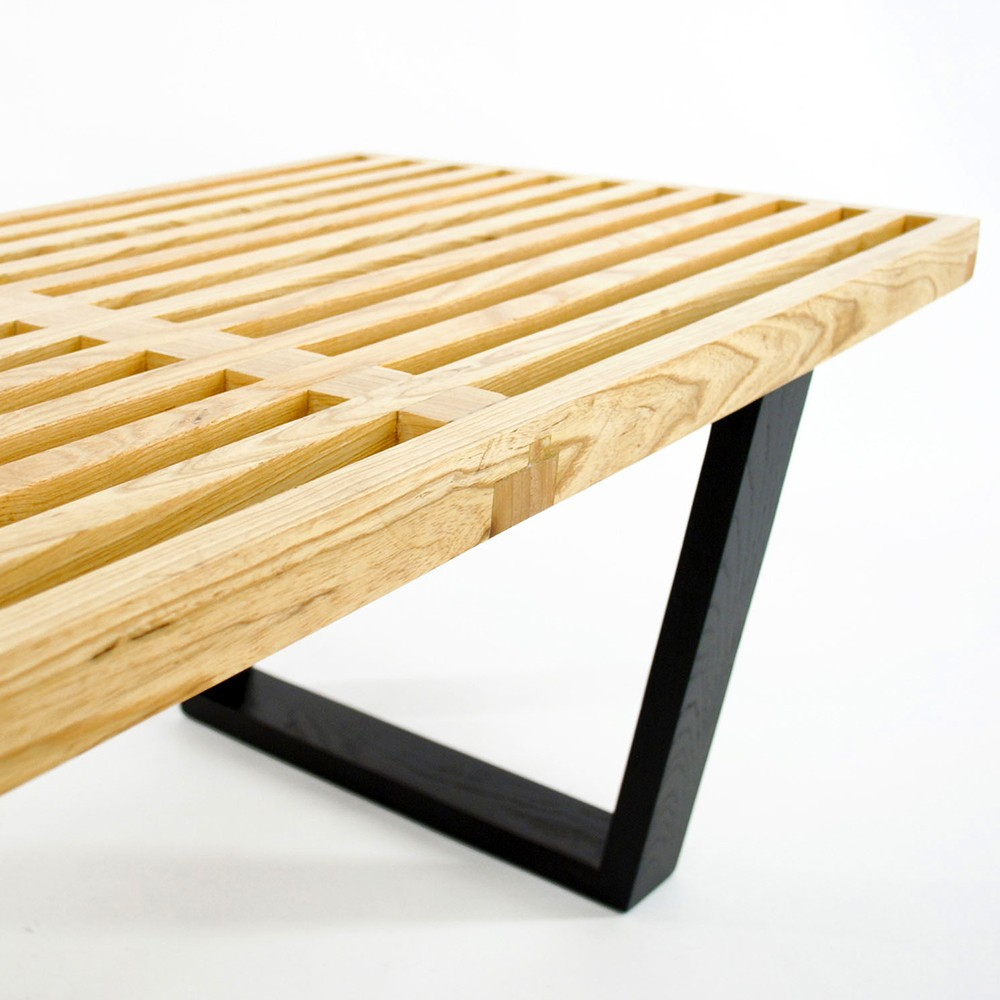 ... wood furniture George Nelson benches Nelson bench modern coffee table