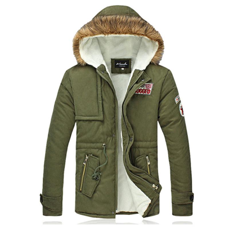 plus size cotton thicken men winter coats fashion hooded winter parkas casual outdoor jacket men casaco