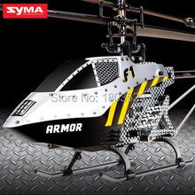 Free shipping Hot Sell remote control toys Syma F1 Armor New Model 4CH Single-Blade 2.4G RC Helicopter for kids as birthday gift