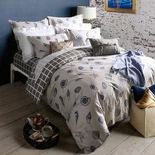 2016 Shell 5pc silk quilt set/4pc duvet cover sets,pure cotton fabric (bedsheet+pillowcase+comforter case) bedding-set(China (Mainland))