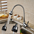 Promotion Brass Kitchen Mixer Cold and Hot Kitchen Tap Single Hole Water Tap Kitchen Faucet JP1314