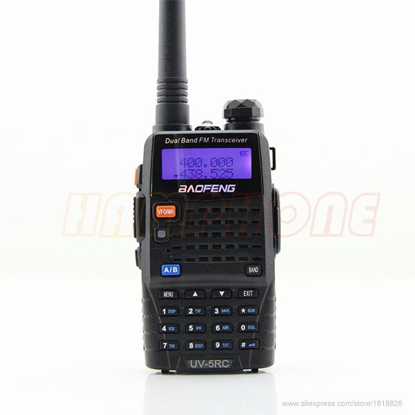 BaoFeng UV-5RC Handheld VHF/UHF Two Way Radio 136-174Mhz&400-520MHz 5Watts Walkie Talkie CB Radio(China (Mainland))
