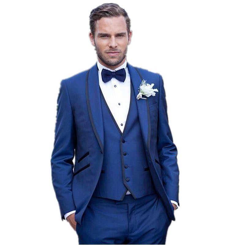 Cheap Tuxedo Wedding Suit Royal Blue Mens Suit 2015 Stage Clothing For Singers M 0684 Costume