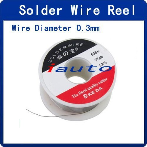 0.3mm Diameter Tin Lead Soldering Rosin Cored Wire Reel