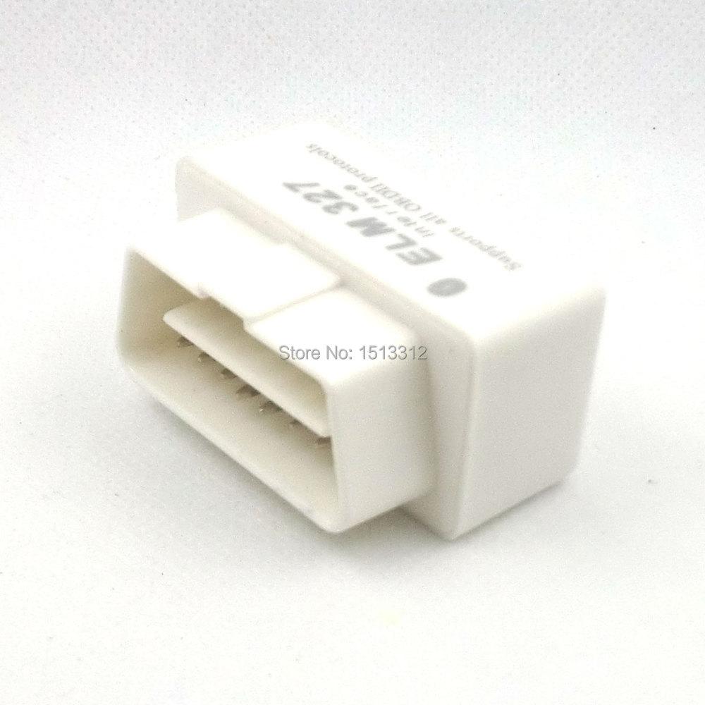 12V 15mA 16pin Car Diagnostic Plug OBD2 Connector Bluetooth ELM327<br><br>Aliexpress