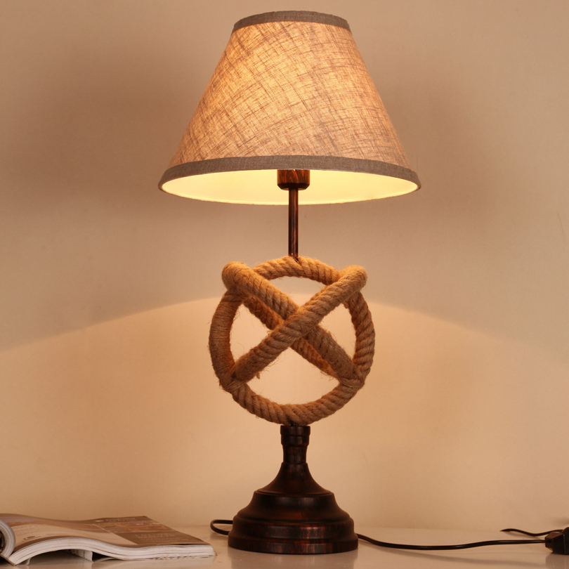 country creative cafe table lamp living room lamp bedroom lamp warm