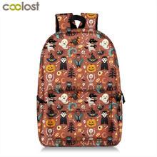 Kawaii arco-íris unicórnio/panda/coelho creme mochila + lápis saco crianças sacos de escola para adolescente menina feminina mochila de viagem(China)