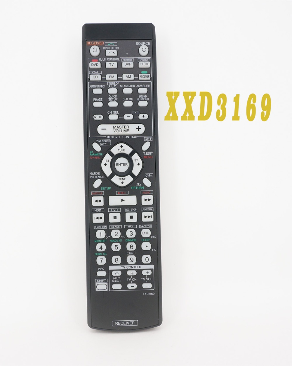 New Original Remote Control XXD3169 FOR PIONEER DVD TV CD Receiver(China (Mainland))