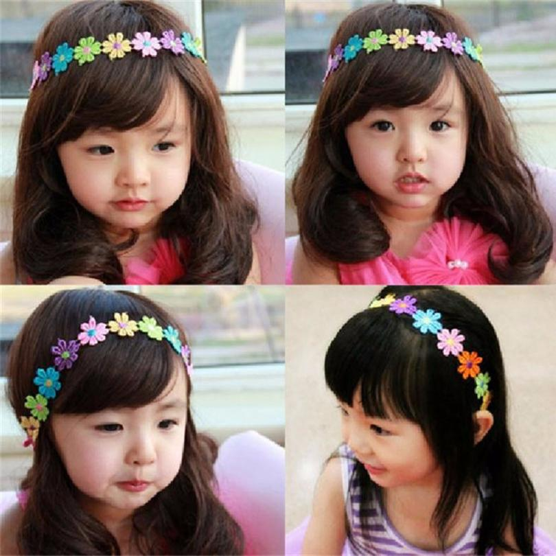 Baby Girl Flowers Headband Photography Props Adjustable Headwear Costume For newborn fotografia Wholesale(China (Mainland))