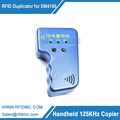 Free shippping Handheld 125Khz EM4100 RFID copier writer duplicator free 2pcs Writable key fob