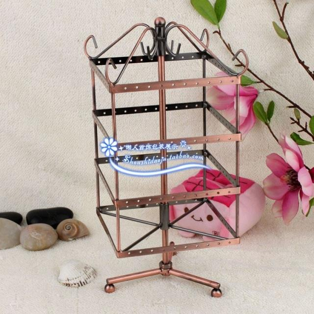 Small 4 tieyi decoration earrings accessories storage rack jewelry display stacking shelf - Joy Wong store