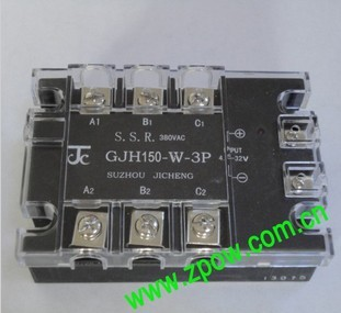 JICHENG Three-phase AC SSR and modules GJH150-W-3P 150A 4.5-32vDC<br><br>Aliexpress