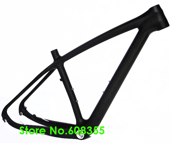 "FR-202 - Full Carbon Matt Matte MTB Mountain Bike Bicycle 29ER BB30 Frame - 15.5"", 17.5"", 19"" (Gift : headset)(China (Mainland))"