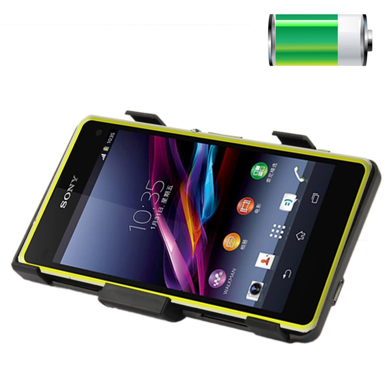 3500mAh Mini Portable External Power Bank Charger Case For Sony Xperia Z1 Mini Battery Case For Sony Xperia Z1 Mini Compact M51W