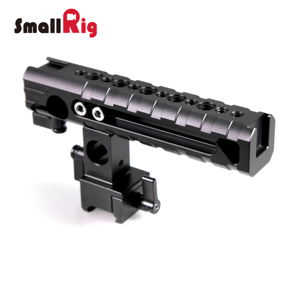 SmallRig Camera Flexible Grip QR Cheese Handle with Hot Shoe, Rail Clamp-1720(China (Mainland))
