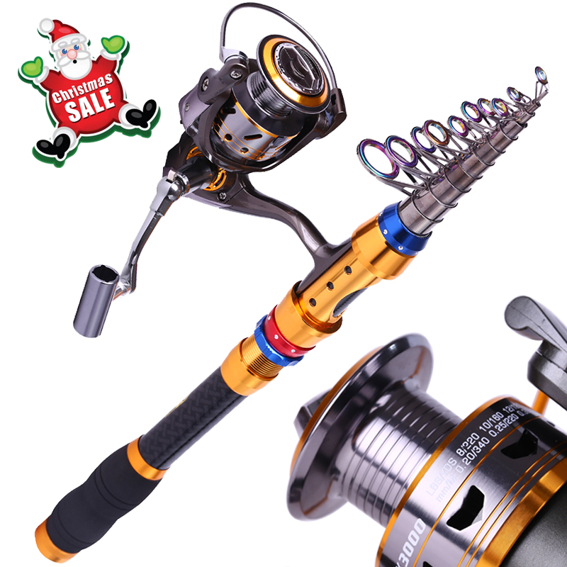 Sougayilang Power 1.8-3.6Meters Telescopic Saltwater Fishing Combos And 13BB Spinning Sea Fishing Rod Reel Set(China (Mainland))