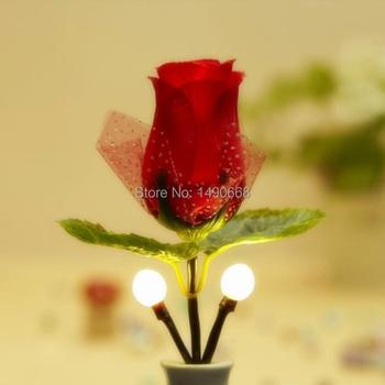 2015 день святого валентина подарок романтический роуз ночь свет сша ес подключите конвертер света управления легко с помощью